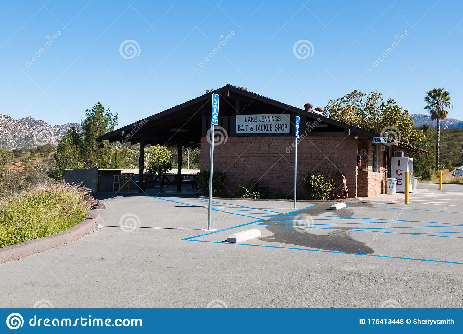 Bait And Tackle Shop At Lake Jennings In San Diego County ...