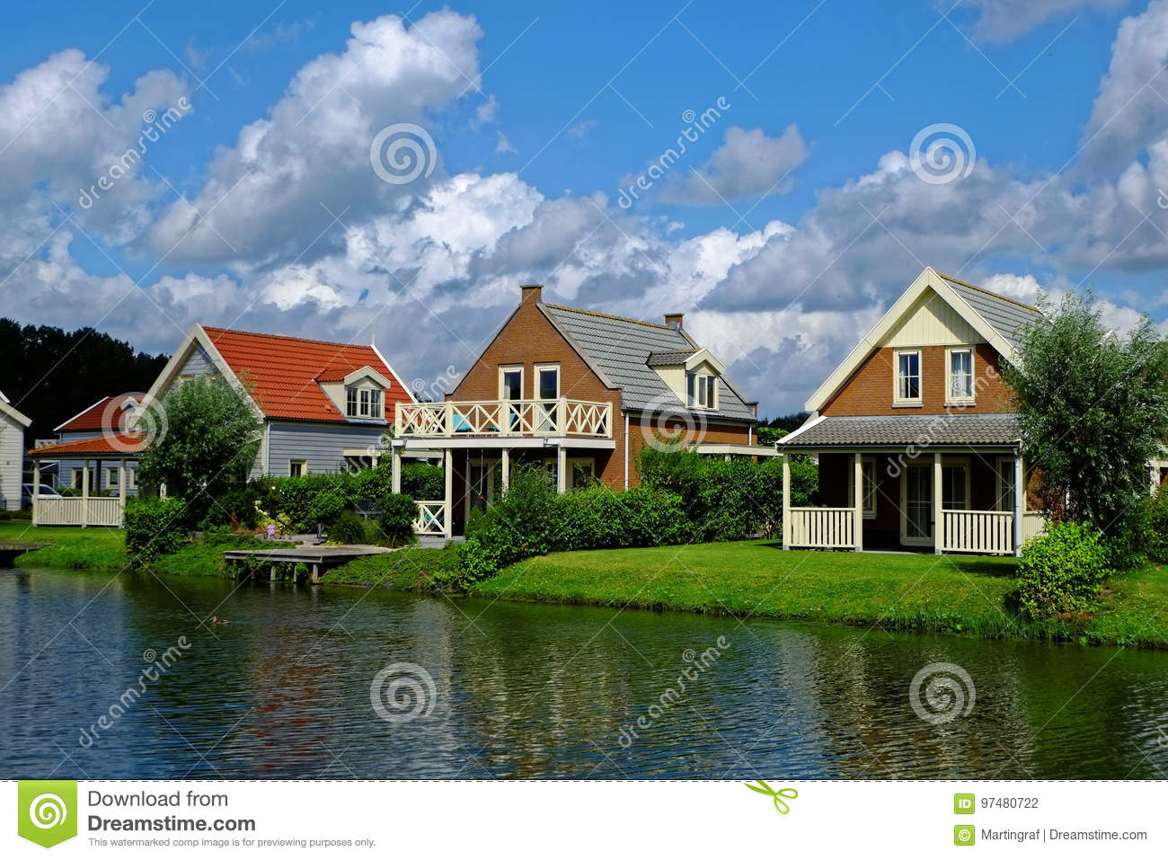 Lakeside holiday homes idyll by noon