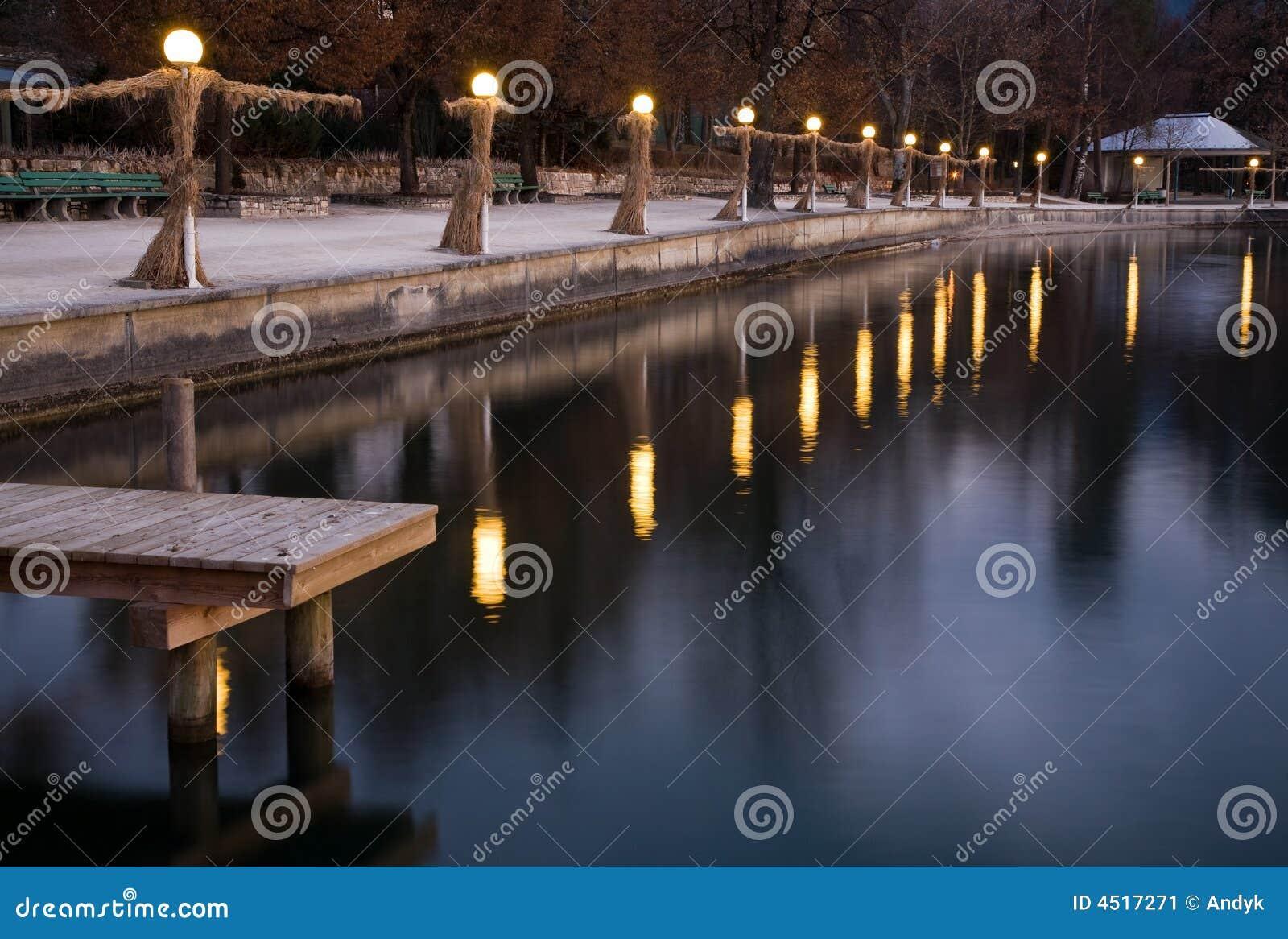 Lakeside lamps
