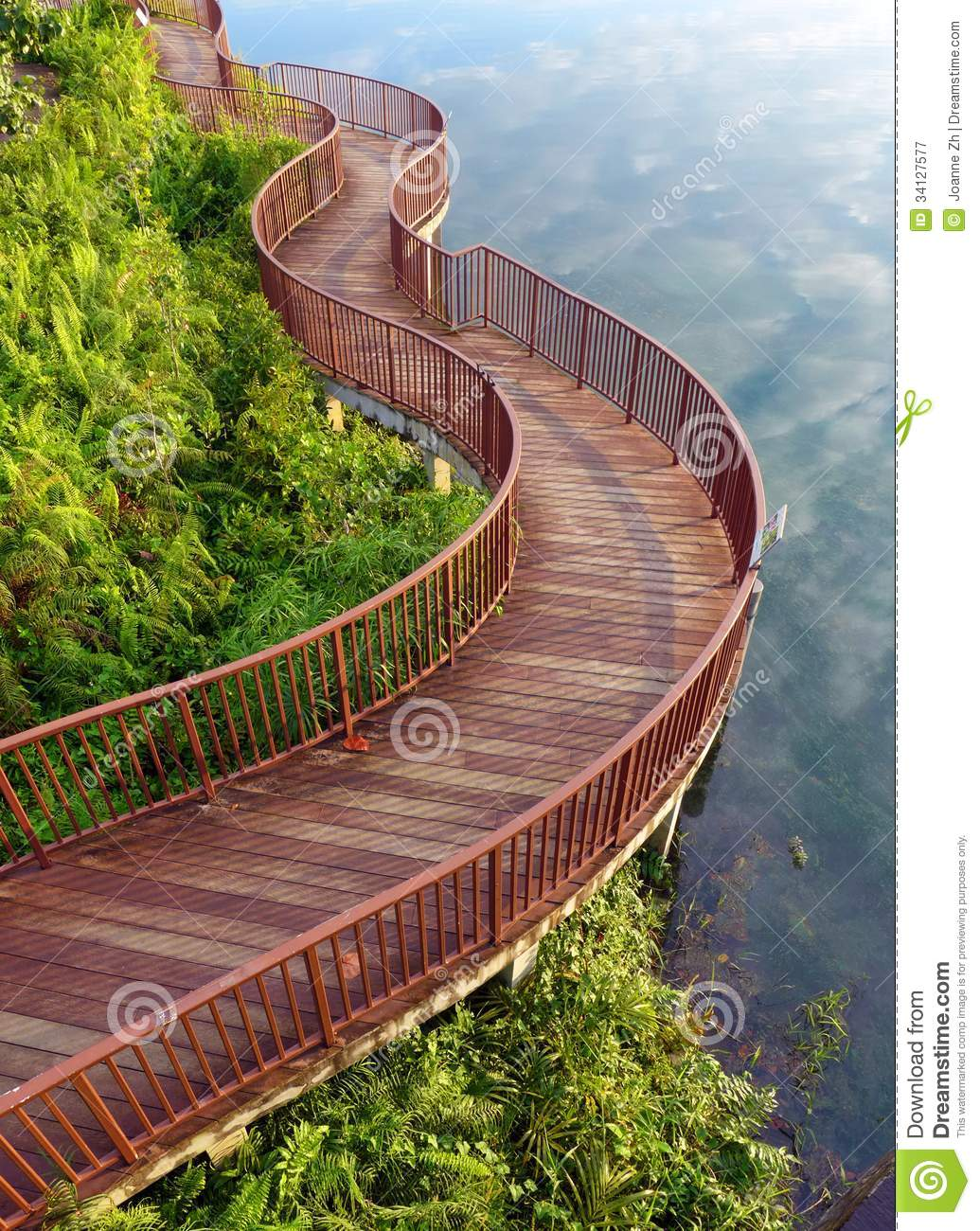 Royalty Free Nature Images This natural style boardwalk