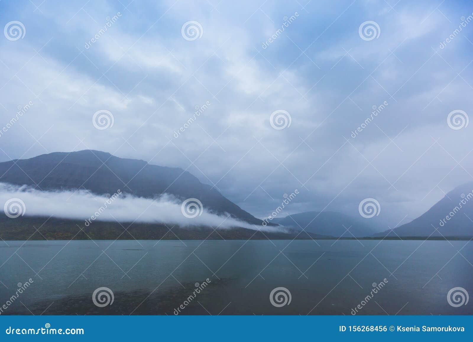 Lama Lake on Putorana Plateau. Russia