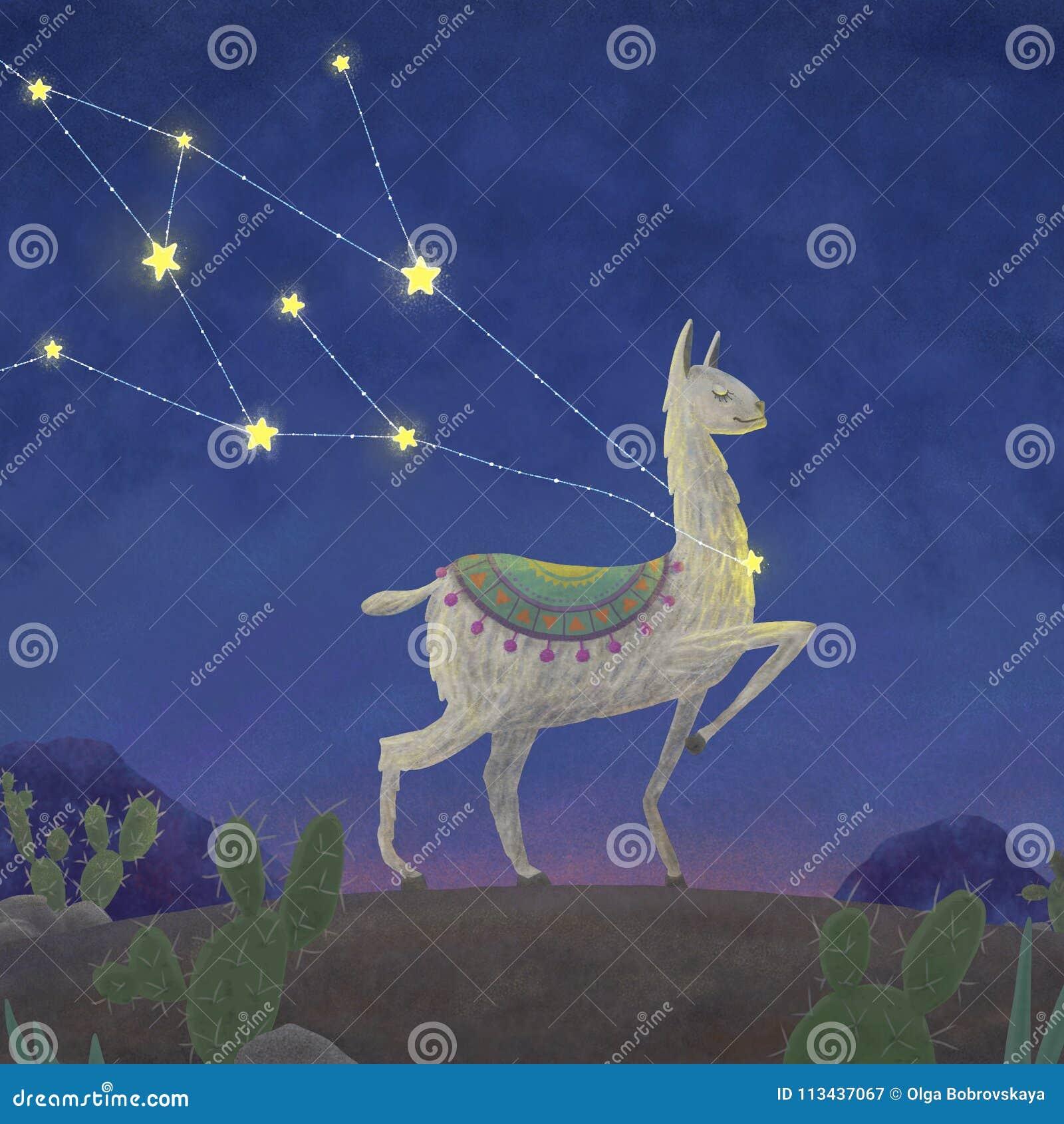 Lama, que foi travado na constelação