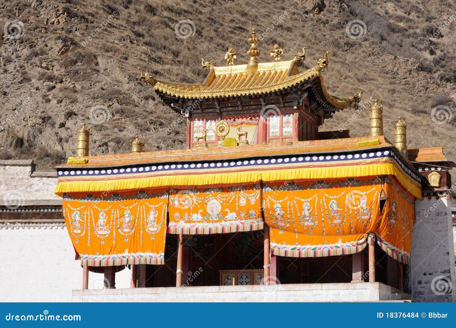 Lamasery Тибет