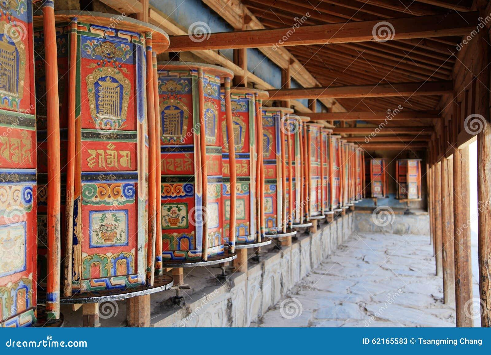 Lamasery Labrang тибетского буддизма в Китае