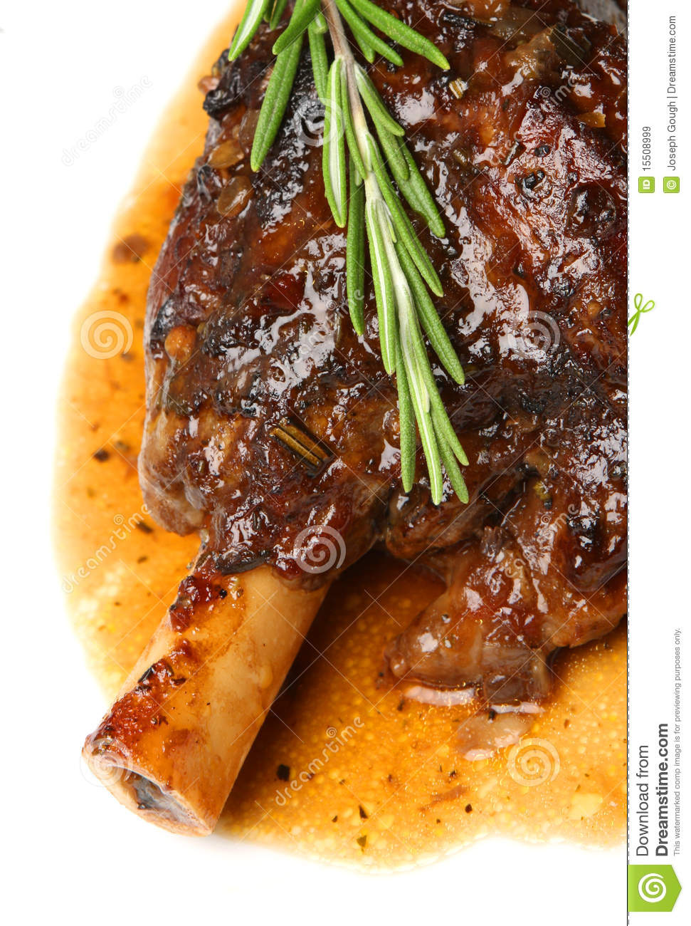 Lamb Shanks With Tomatoes And Fresh Herbs Recipe — Dishmaps