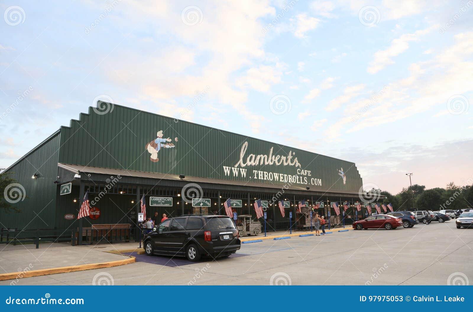 Lambert S Restaurant Missouri Editorial Stock Photo Image Of