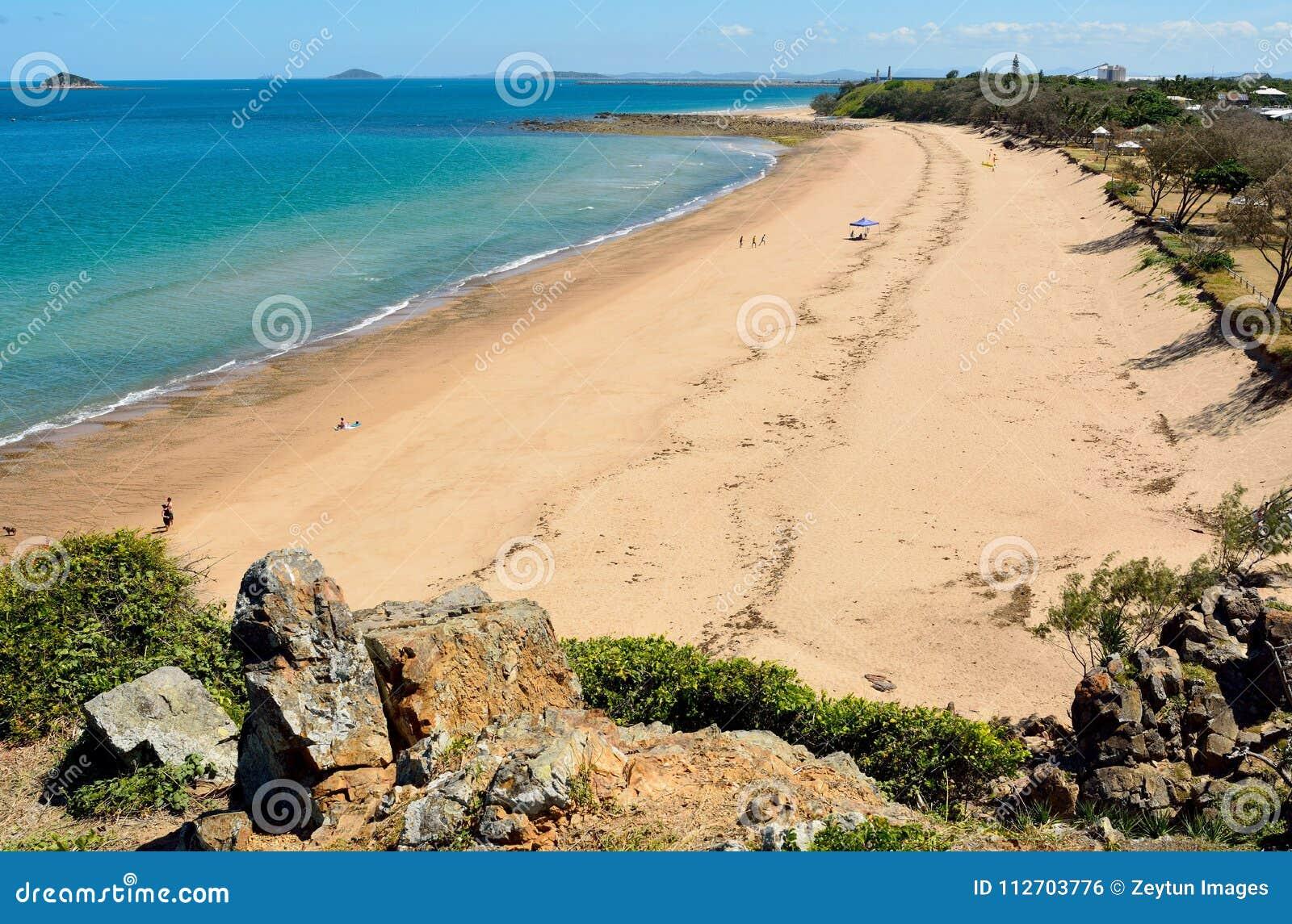 Lamberts-Strand in Mackay, Australien