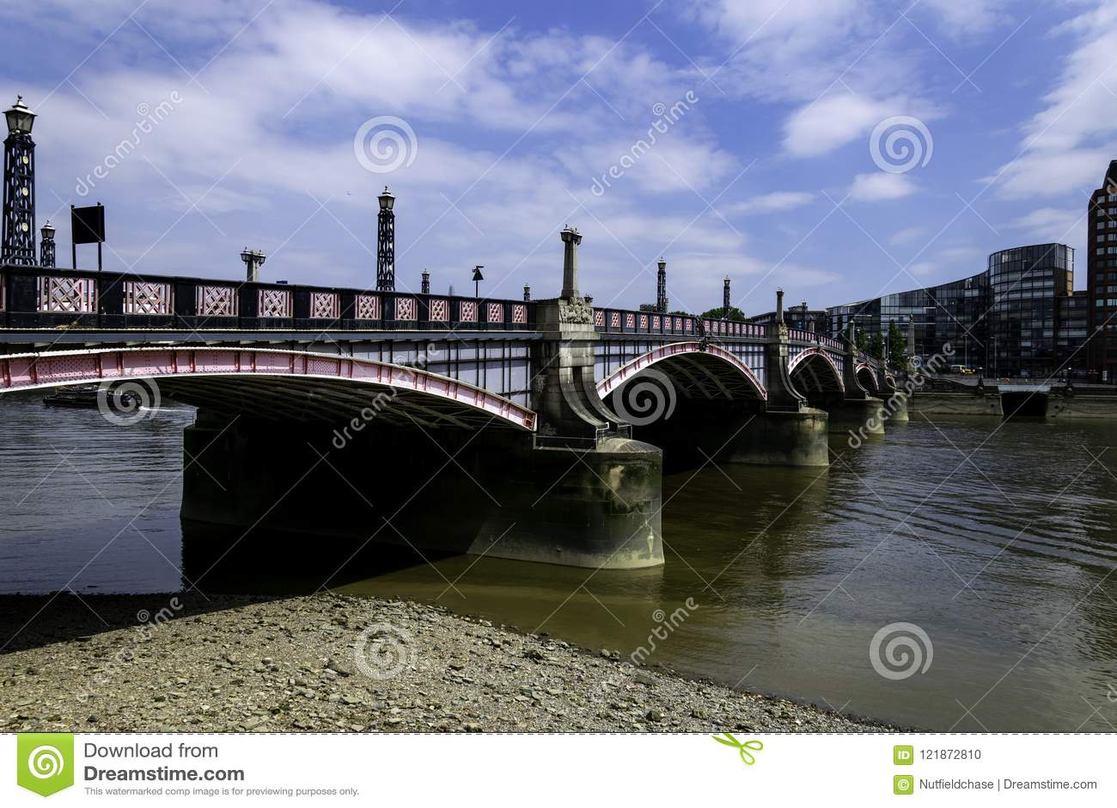 Lambeth Bridge over the River Thames