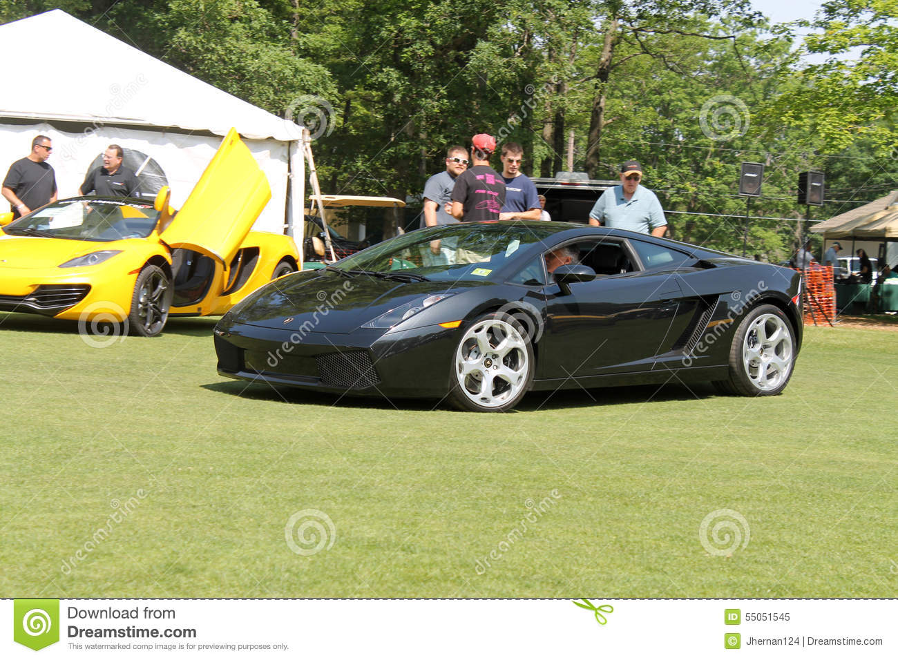 Lambo Driving On Lawn Editorial Image Image Of Fender 55051545