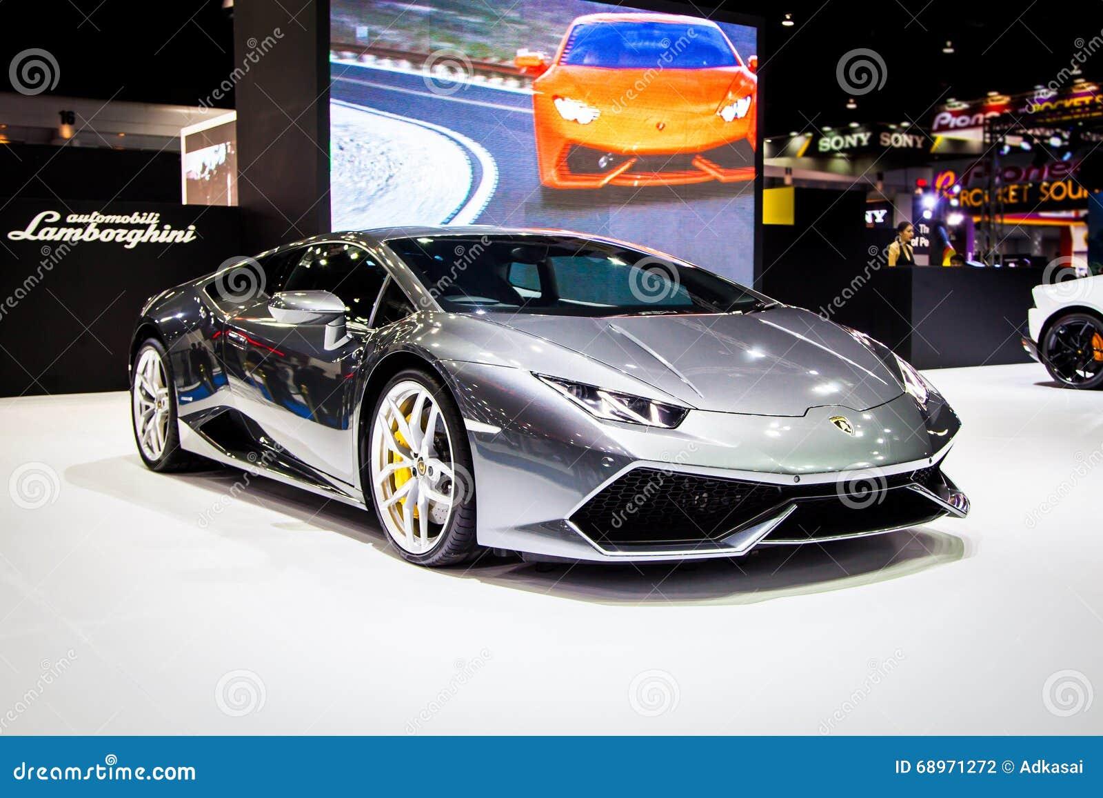 Lamborghini на Таиланде 37th международном Motorshow 2016