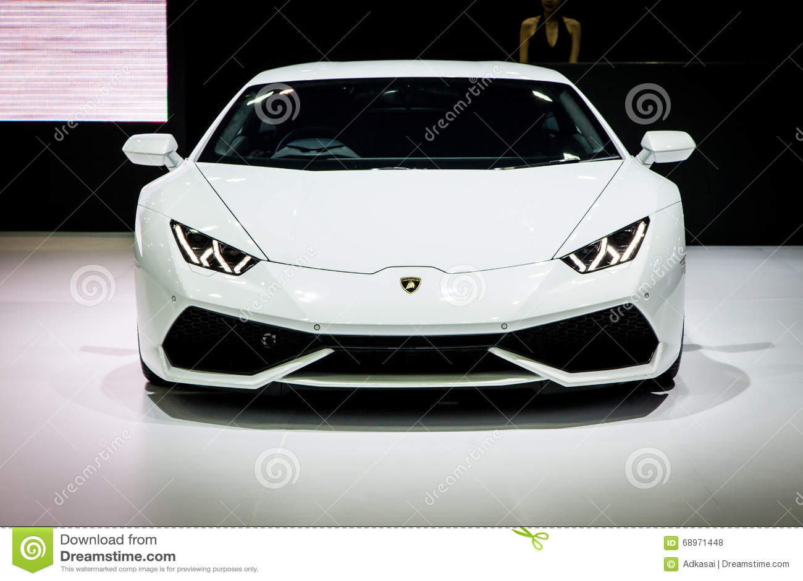 Lamborghini alla Tailandia trentasettesima Motorshow internazionale 2016