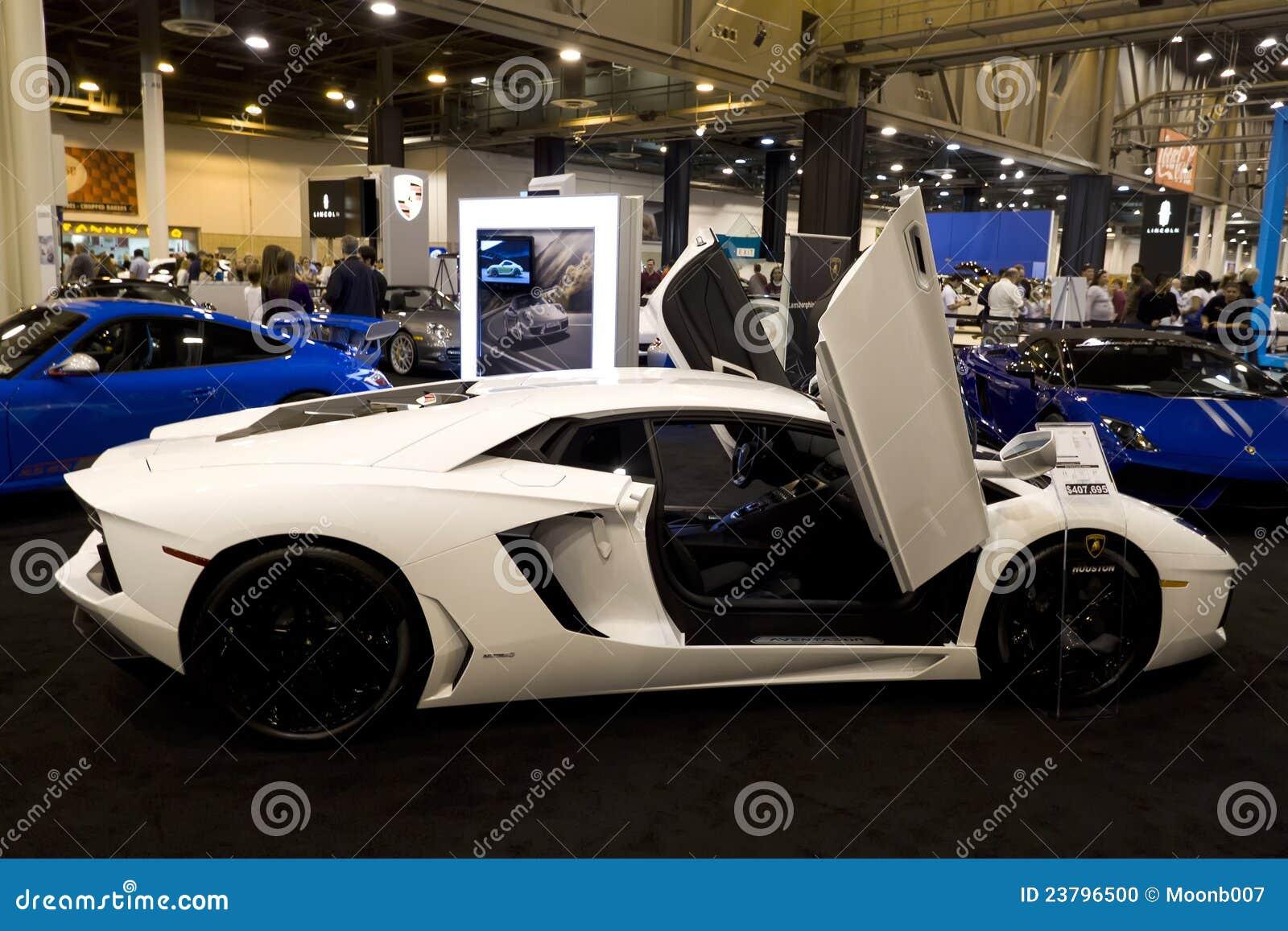 Lamborghini Aventador Editorial Image Image Of Showroom 23796500