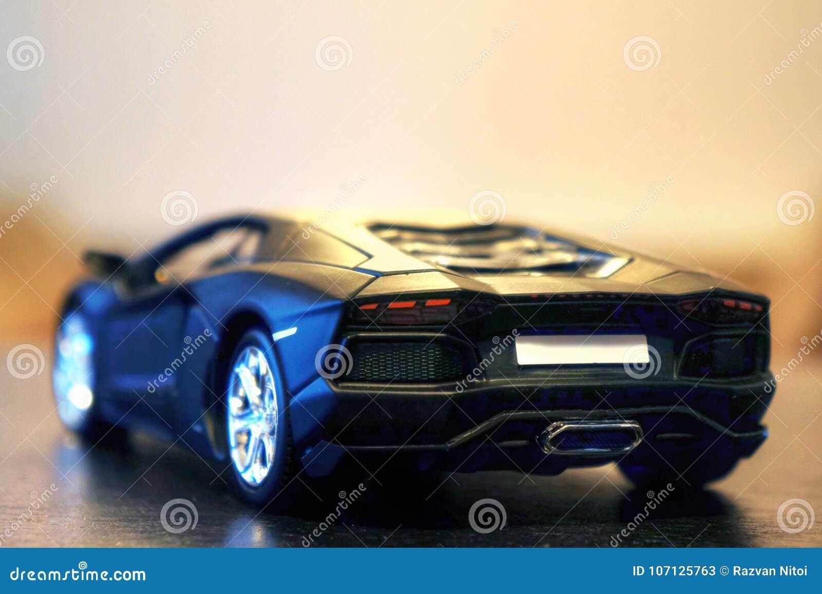 Lamborghini Aventador Lp700 4 Model Car Rear View Editorial Stock