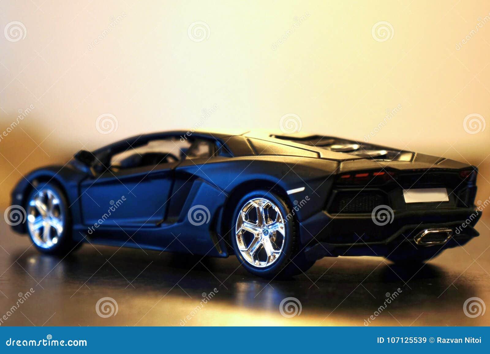 Lamborghini Aventador lp700-4 modelautozijde/achtergedeelte