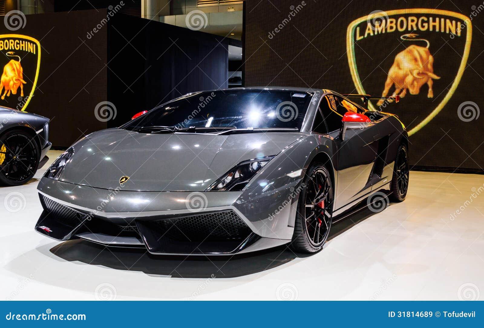 Lamborghini Editorial Stock Image Image Of Automobile 31814689