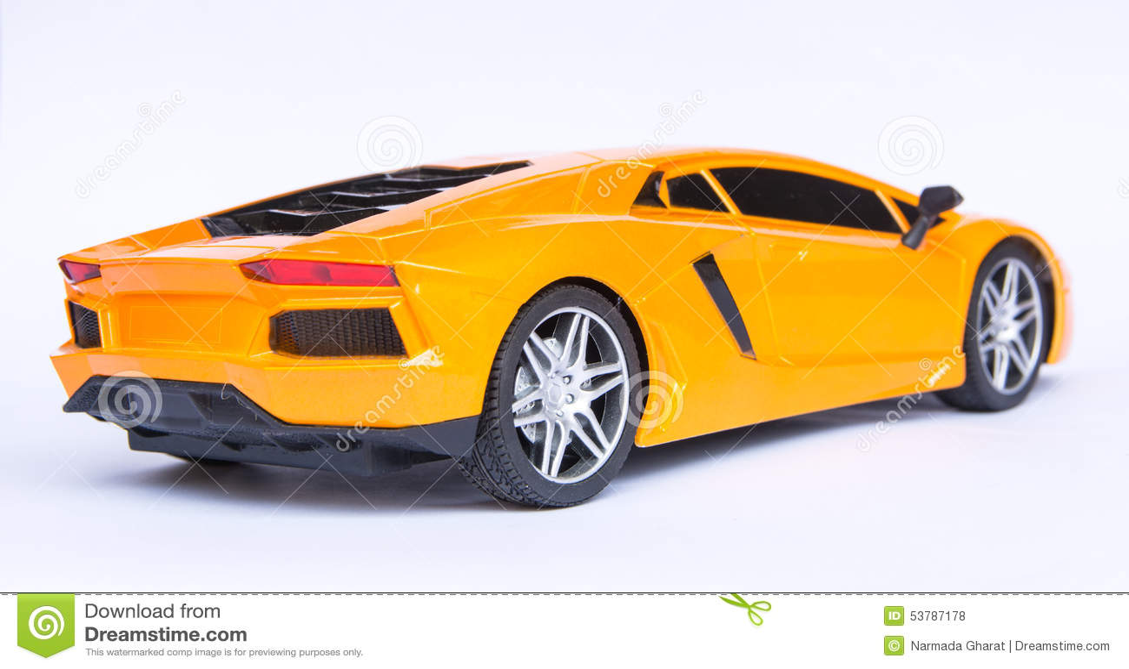 Lamborghini bawi się samochód