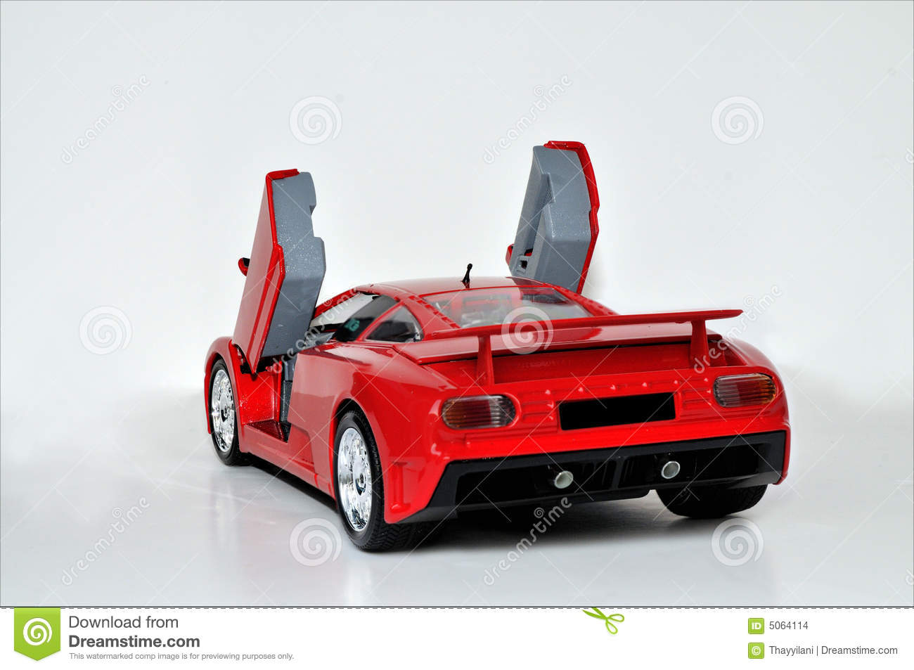 Lamborghini Car Door Open Stock Photo Image Of Illustration 5064114