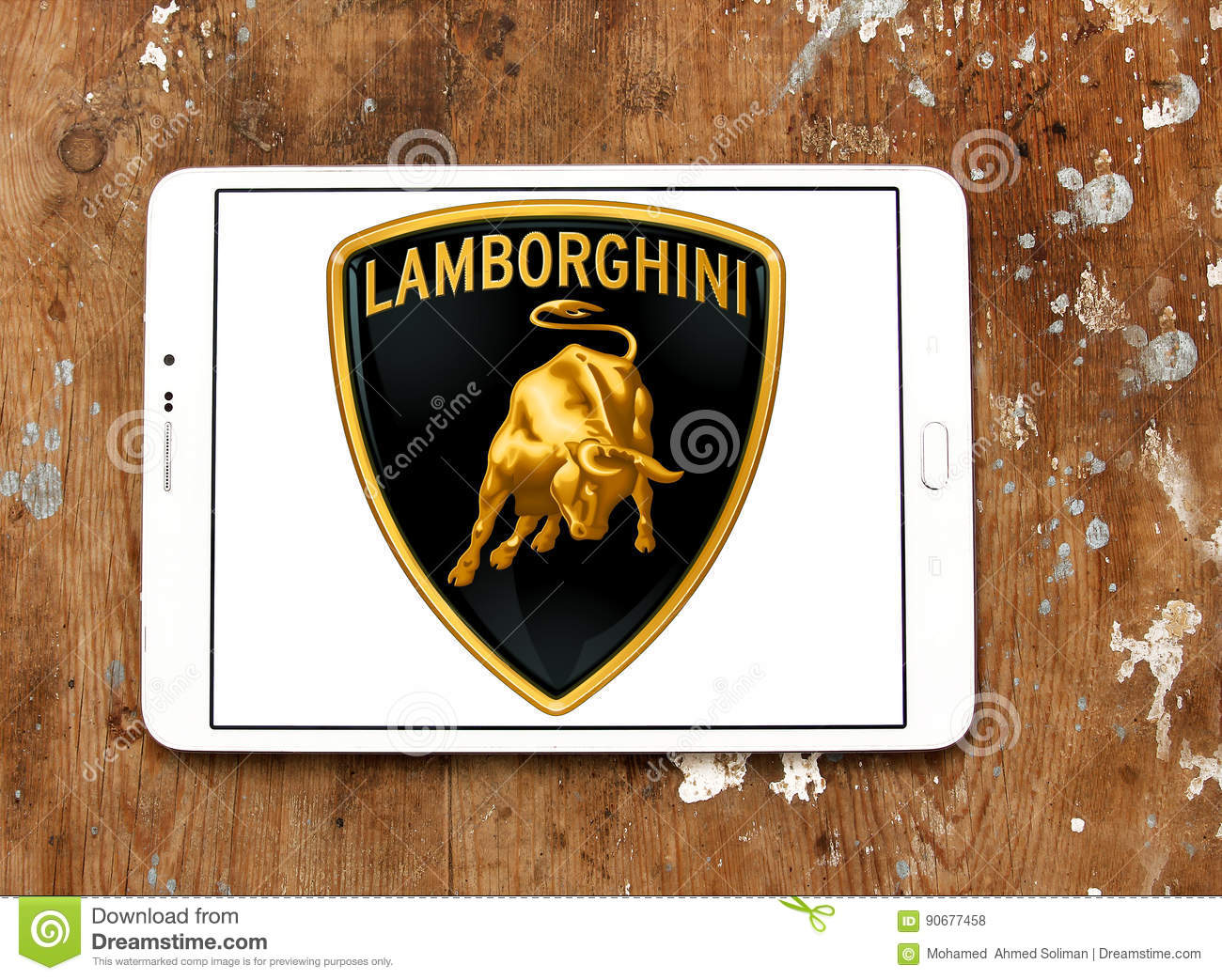 Lamborghini Car Logo Editorial Stock Photo Image Of Brand 90677458