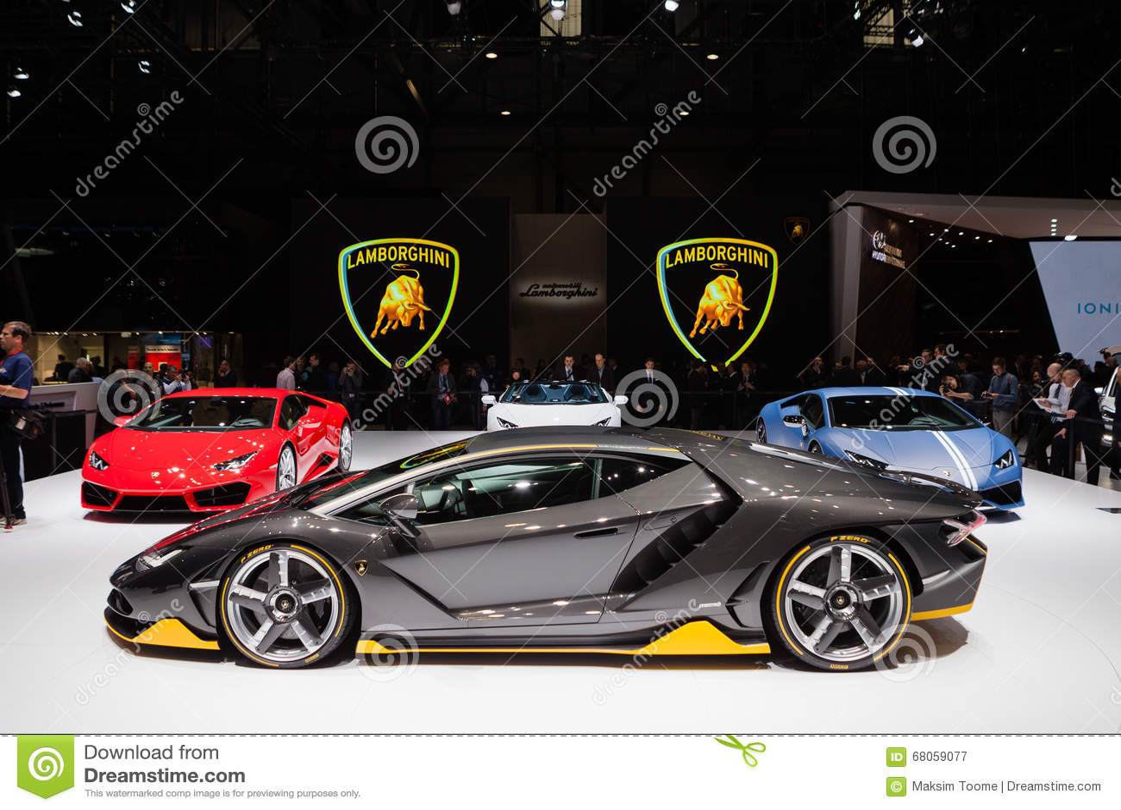 Lamborghini Centenario In Geneva Editorial Photography Image Of