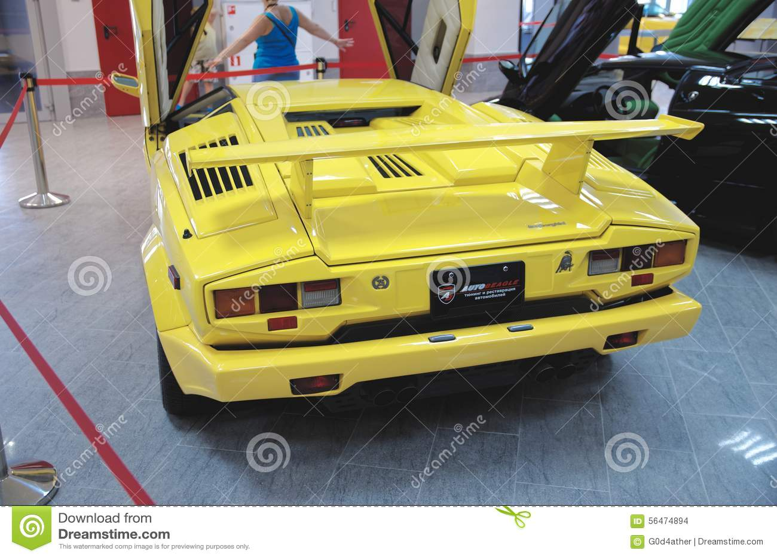 Lamborghini Countach Editorial Stock Image Image Of Spoiler 56474894