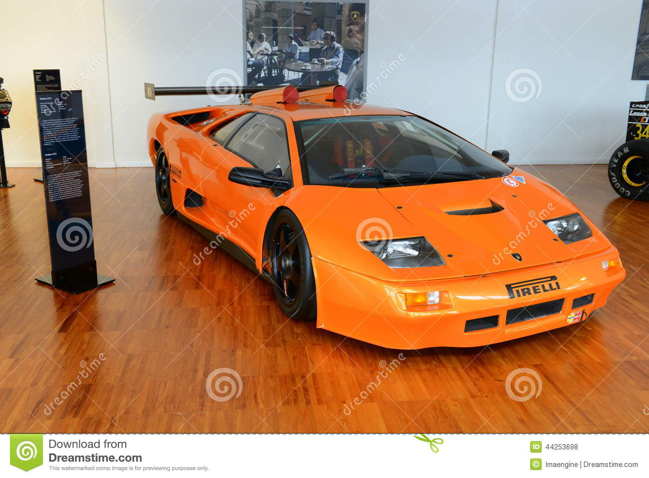 Lamborghini Diablo Gt2 Editorial Stock Photo Image Of Lp400 44253698