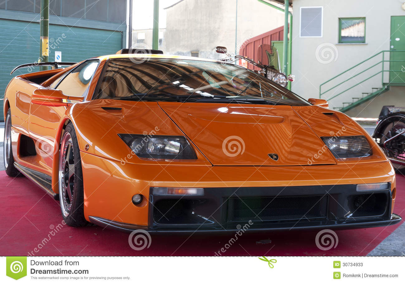 Lamborghini Diablo Gt Editorial Stock Photo Image Of Retro 30734933
