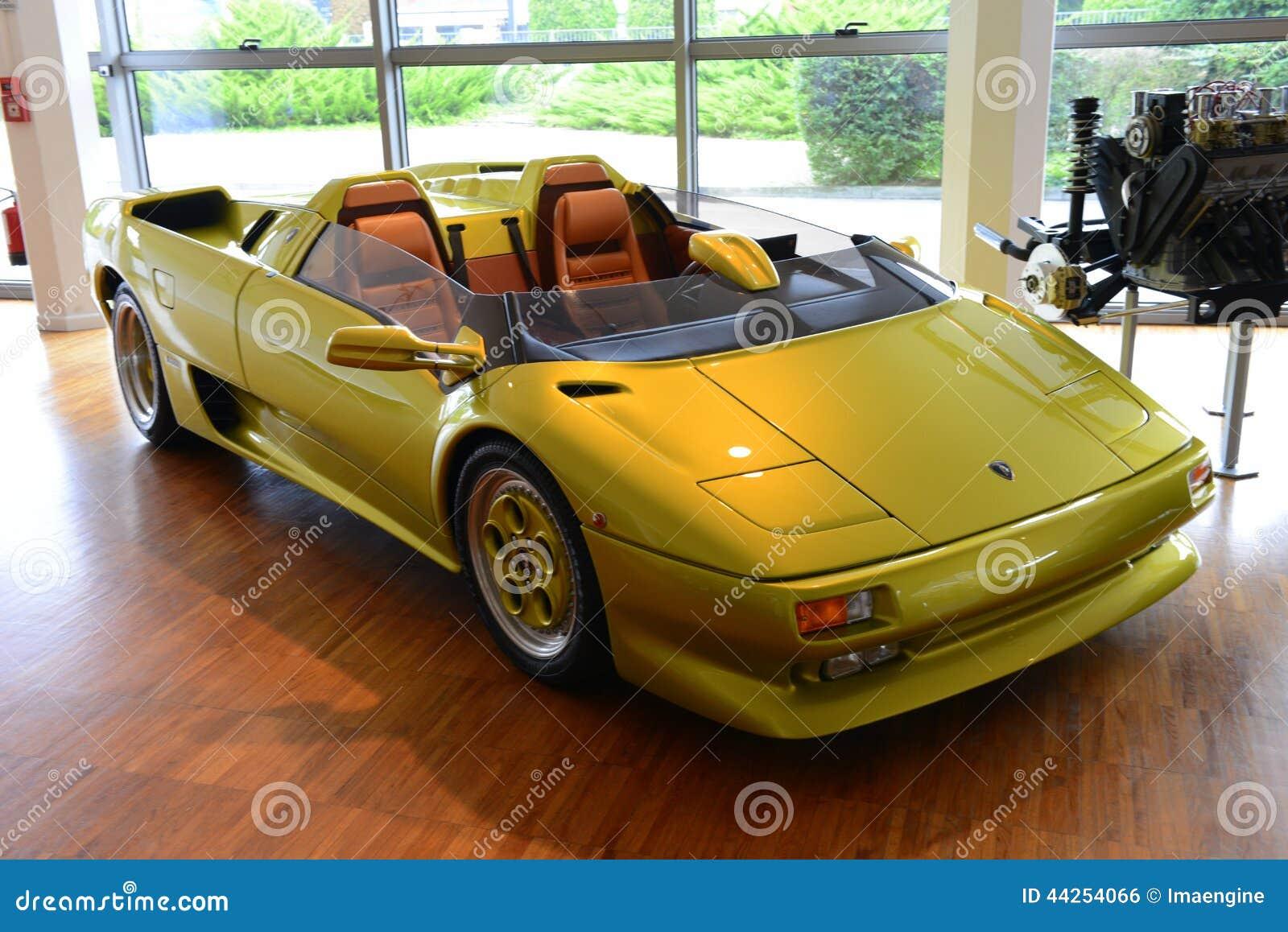 Lamborghini Diablo Spyder Editorial Photo Image Of Expensive 44254066