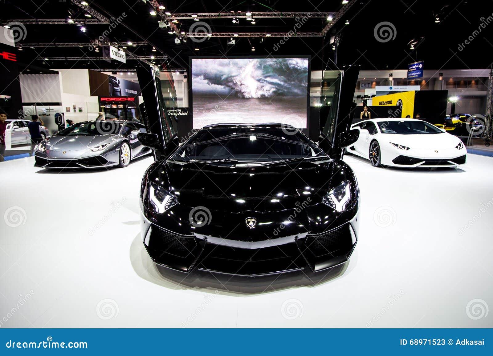 Lamborghini em Tailândia 37th Motorshow internacional 2016