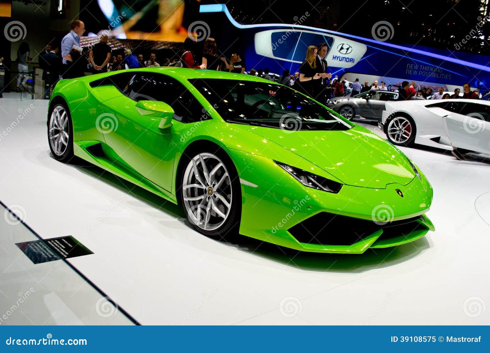 Lamborghini Huracan Genève 2014