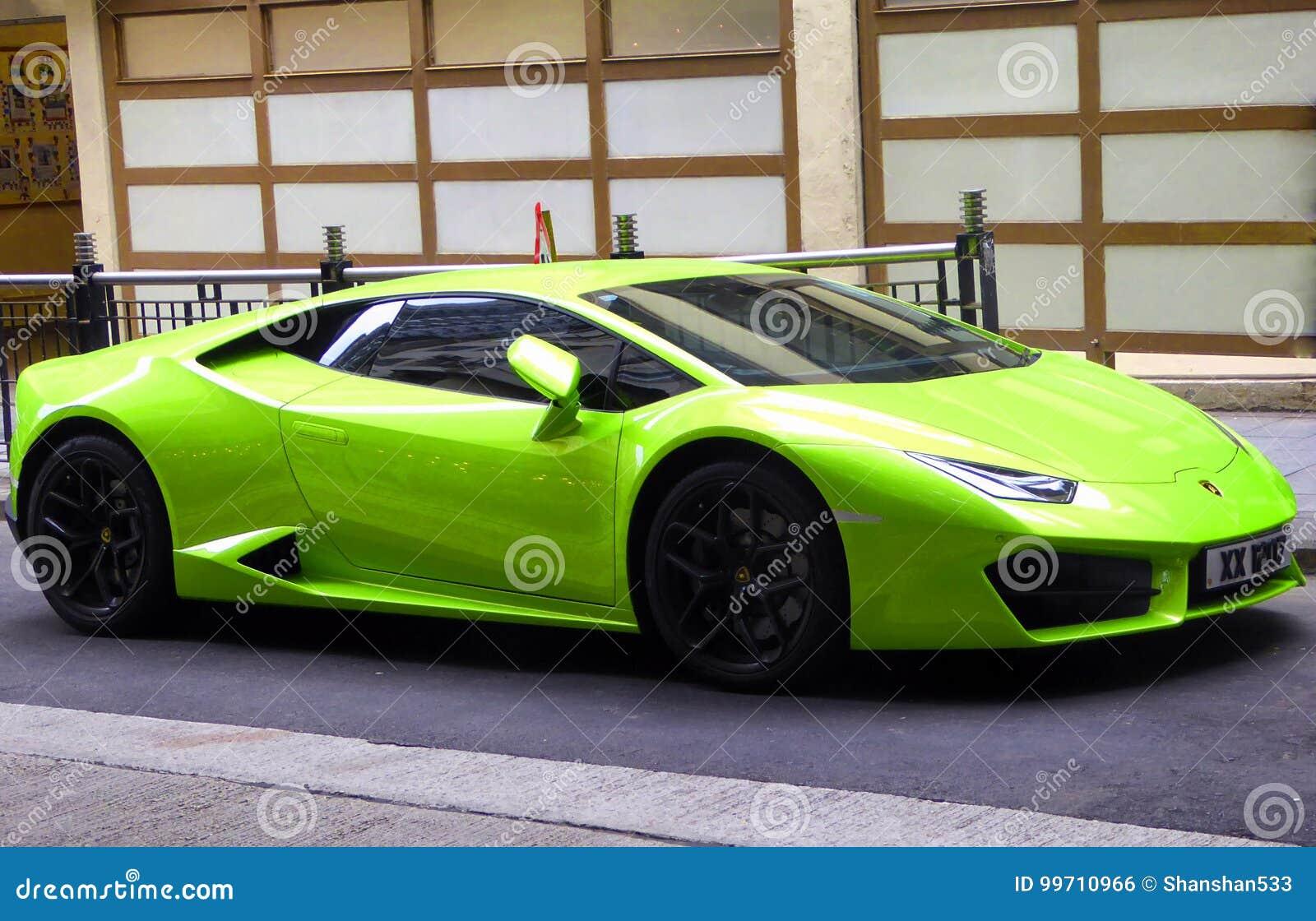 Lamborghini Huracan 2014 Lp610 4 Editorial Photo Image Of Hongkong