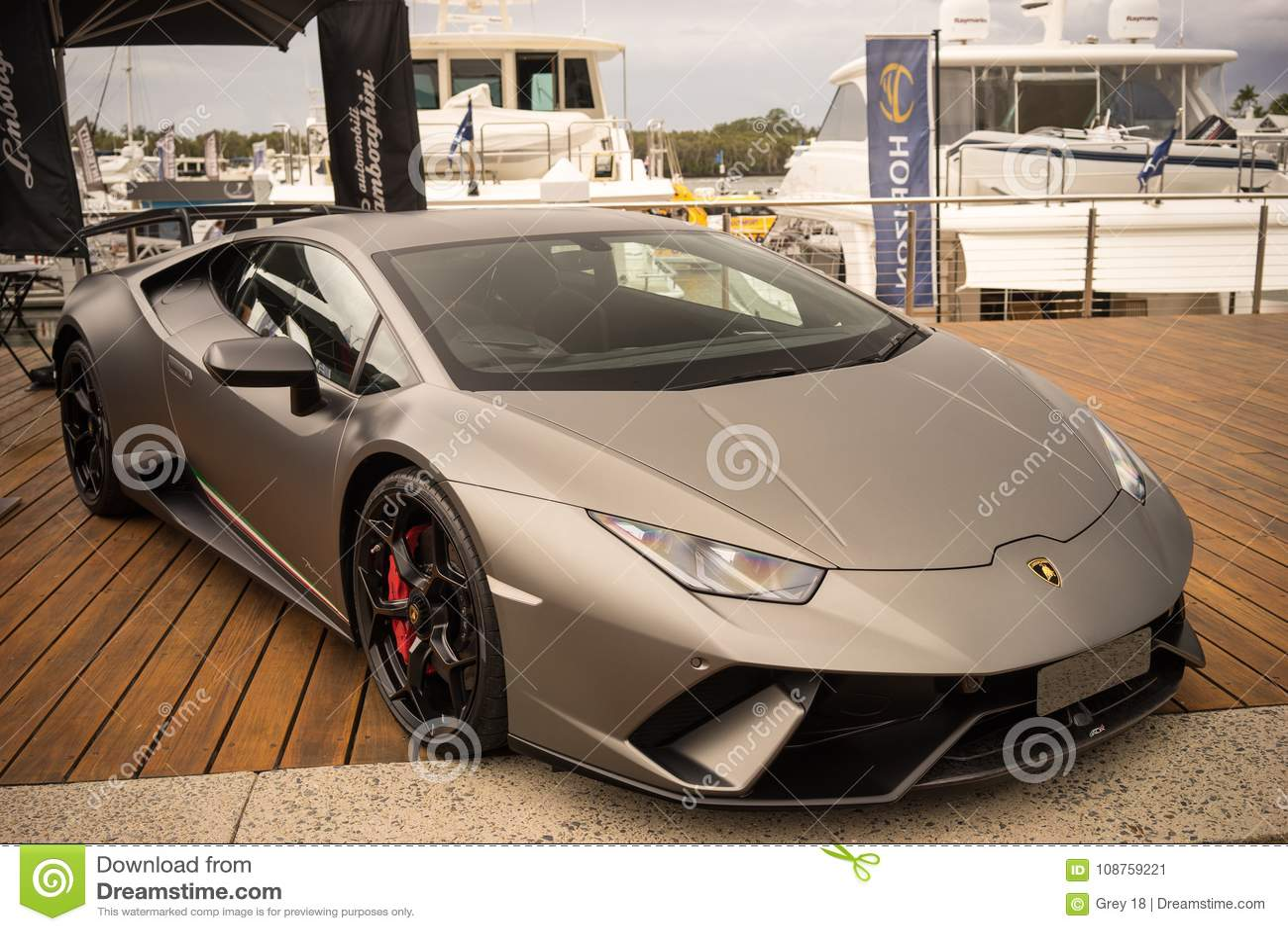 Lamborghini Huracan Lp640 Performante Editorial Photo