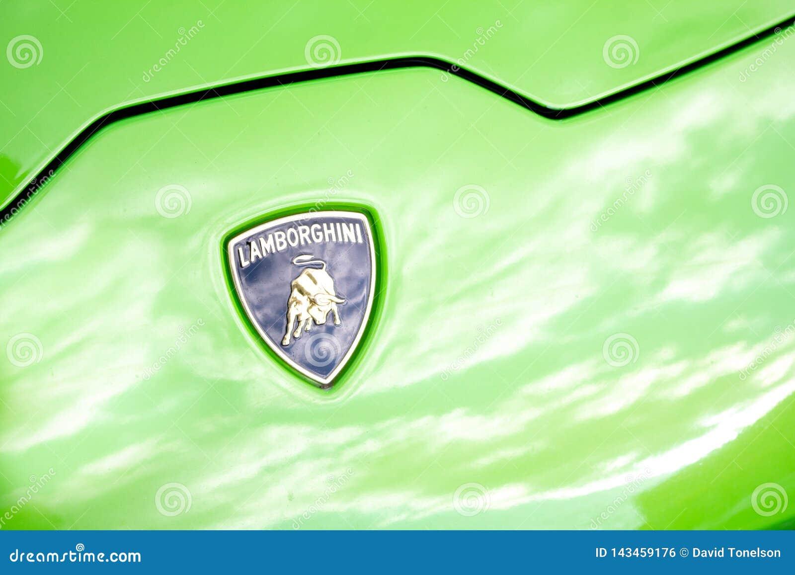 Lamborghini huvemblem