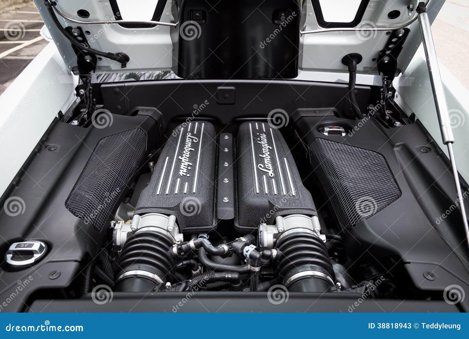 lamborghini lp560-4超级发动机图片