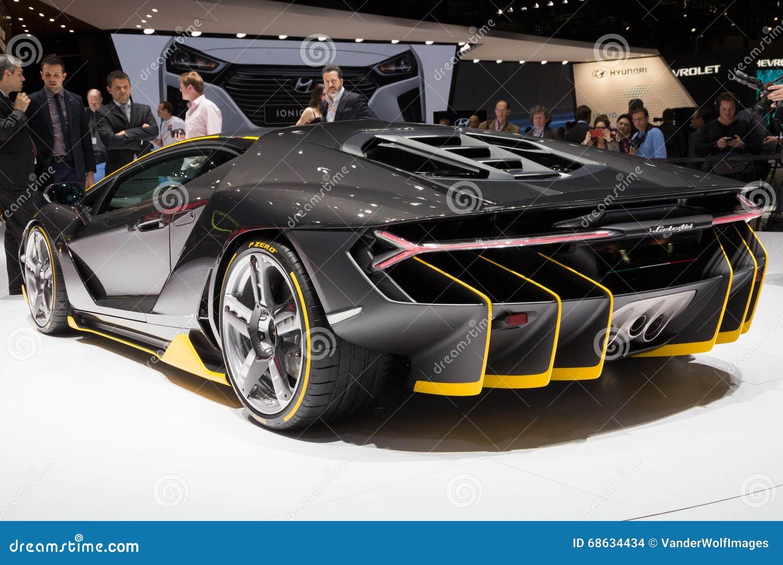 Lamborghini Lp770 4 Centenario Sports Car Editorial Stock