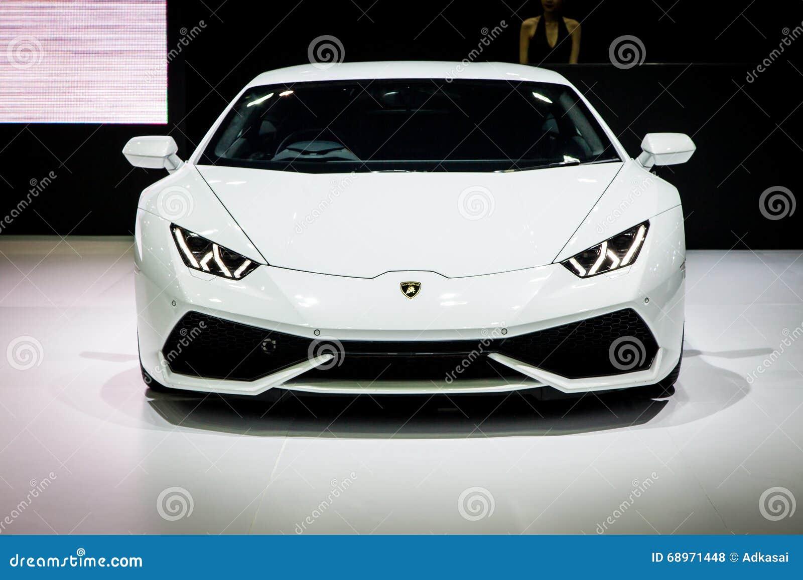 Lamborghini przy Tajlandia 37th Międzynarodowy Motorshow 2016