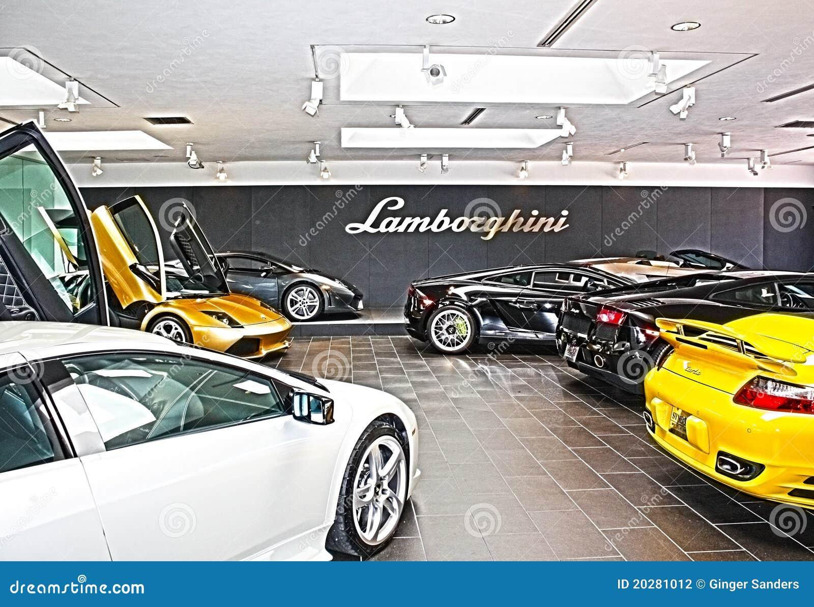 Lamborghini Sales Floor HDR