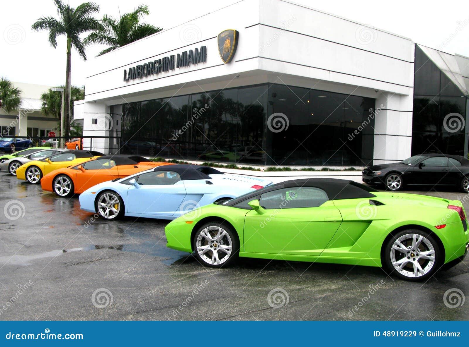 Editorial Stock Image Lamborghini Store Miami Sport Car Florida Usa Image48919229 on Z Ocean El Miami