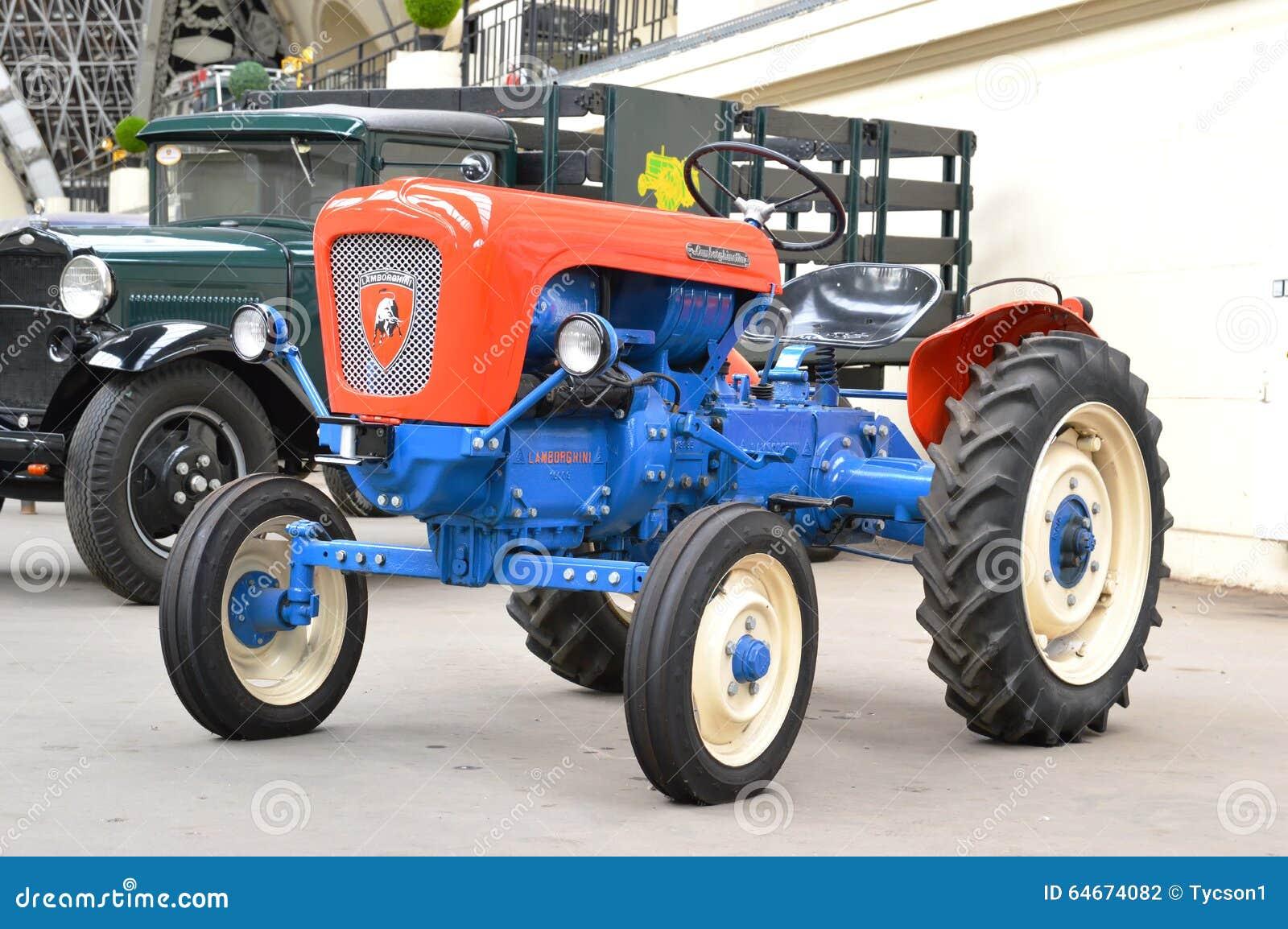 Lamborghini-Traktor redaktionelles stockfotografie. Bild ...
