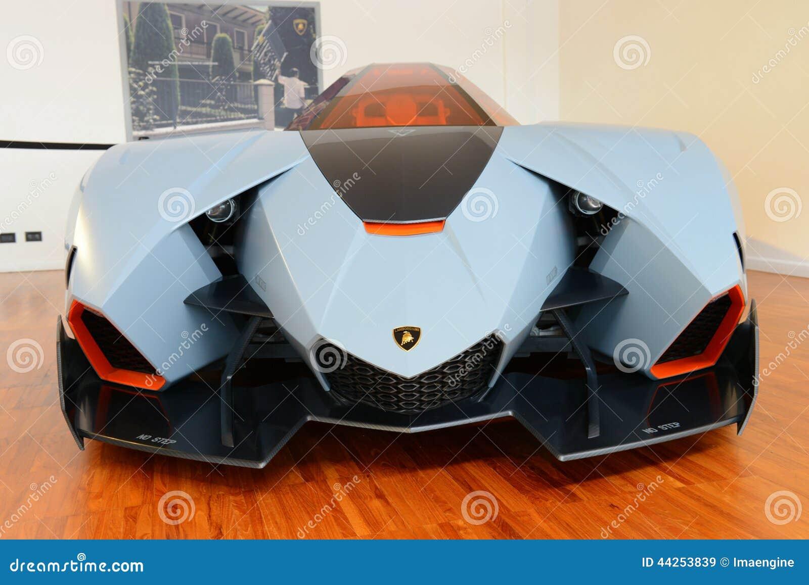lamborghini egoista prototype editorial stock image image 44253839. Black Bedroom Furniture Sets. Home Design Ideas