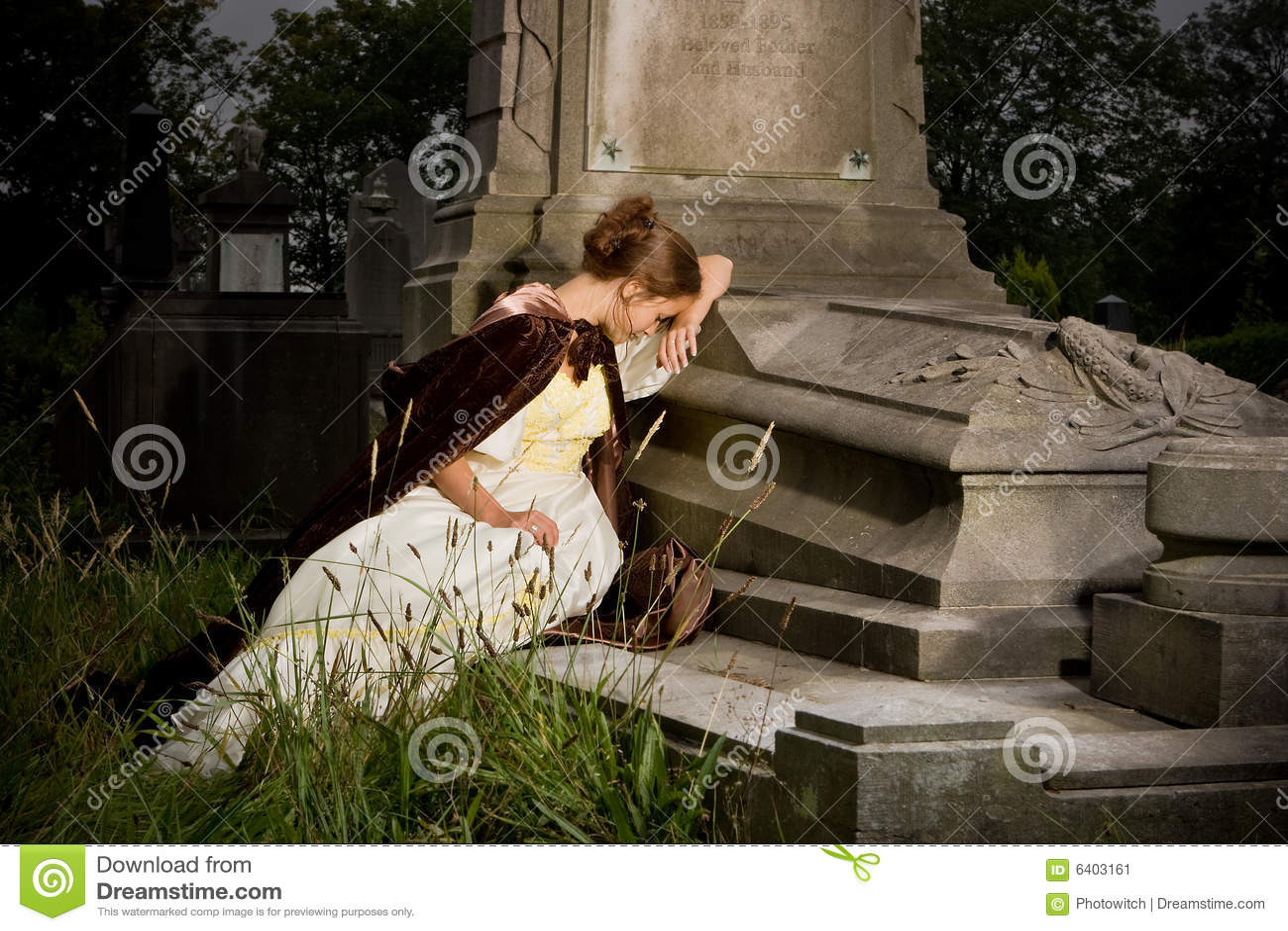 Lamentação em um túmulo