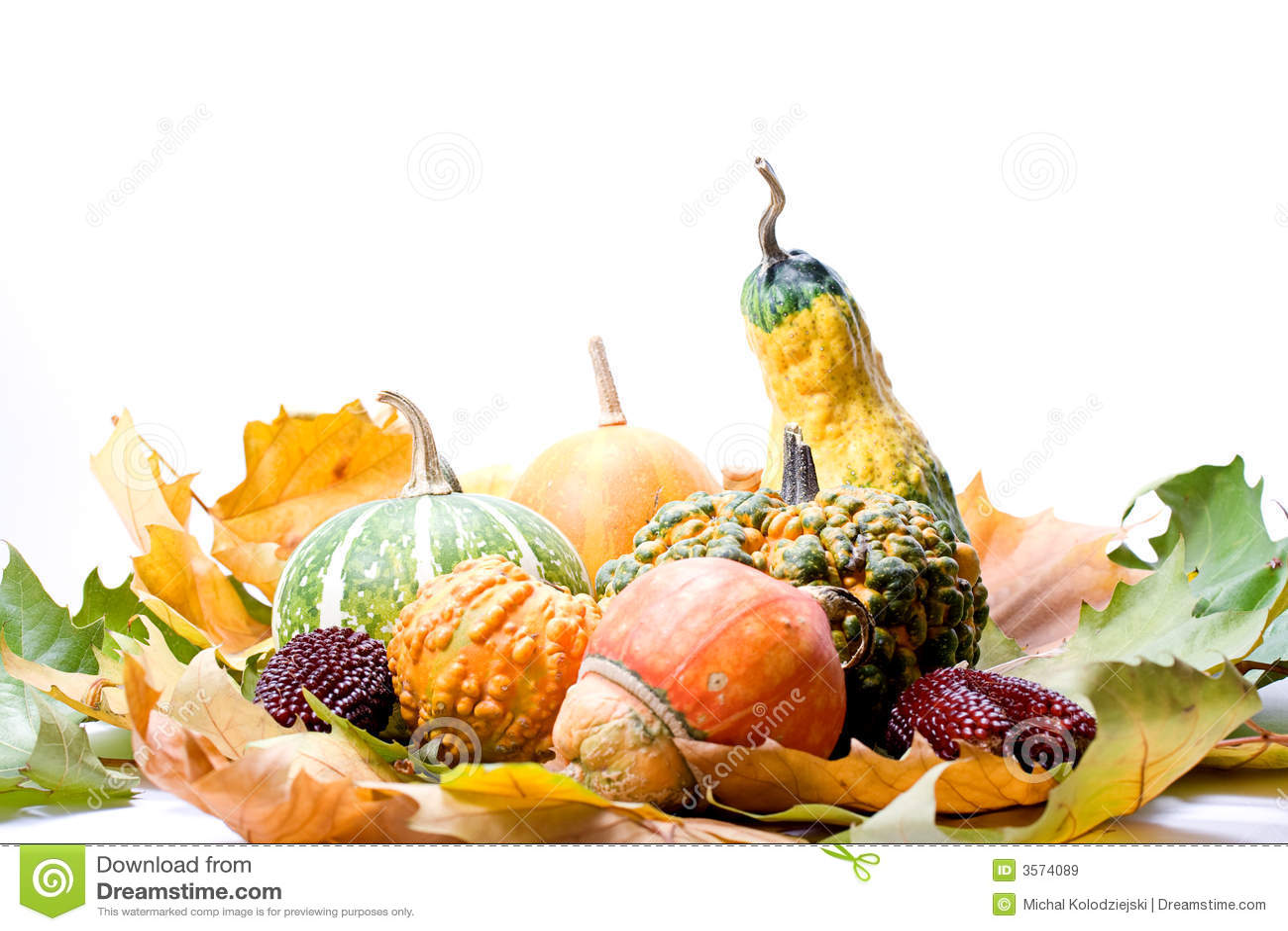 Lames et légumes de fruits
