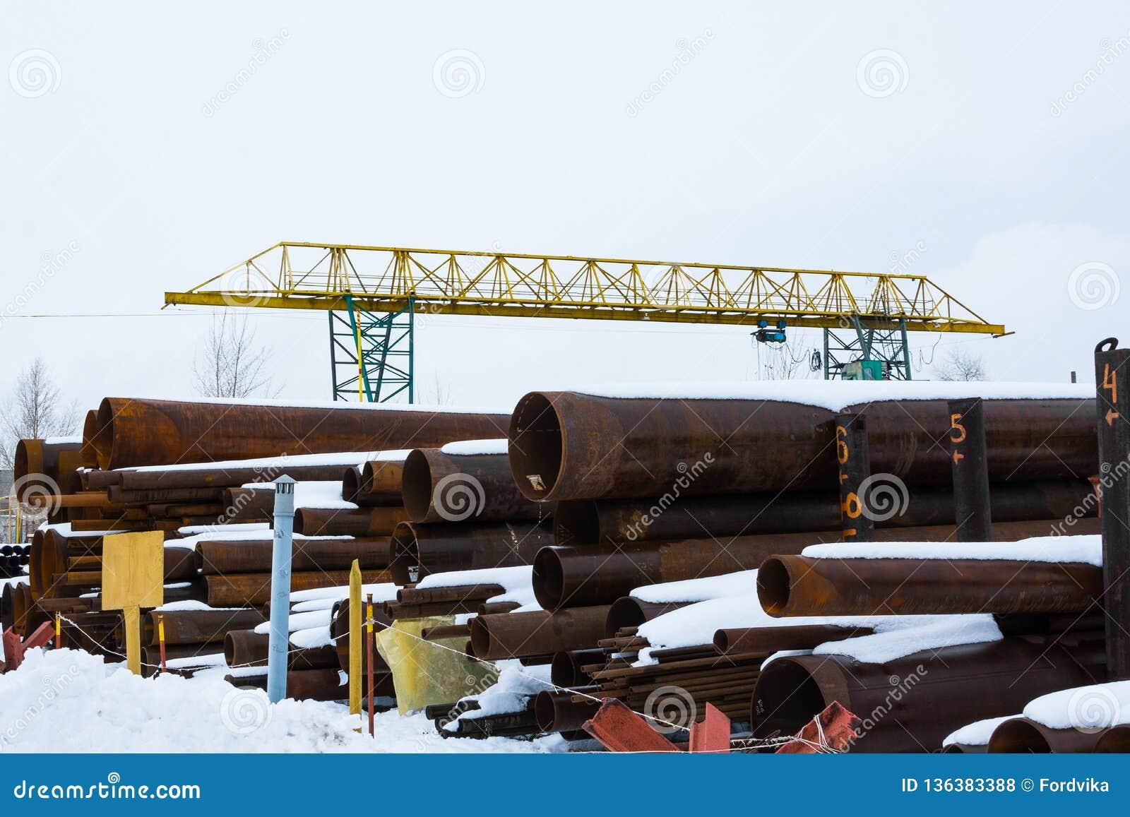 Laminación Un diámetro grande del tubo redondo