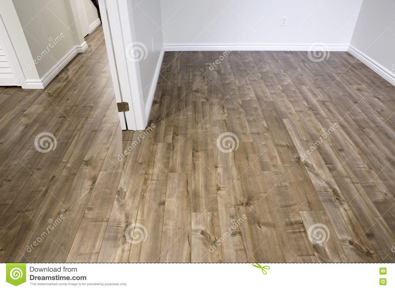 Laminate Flooring Driftwood Stock Image Image Of Painted Office