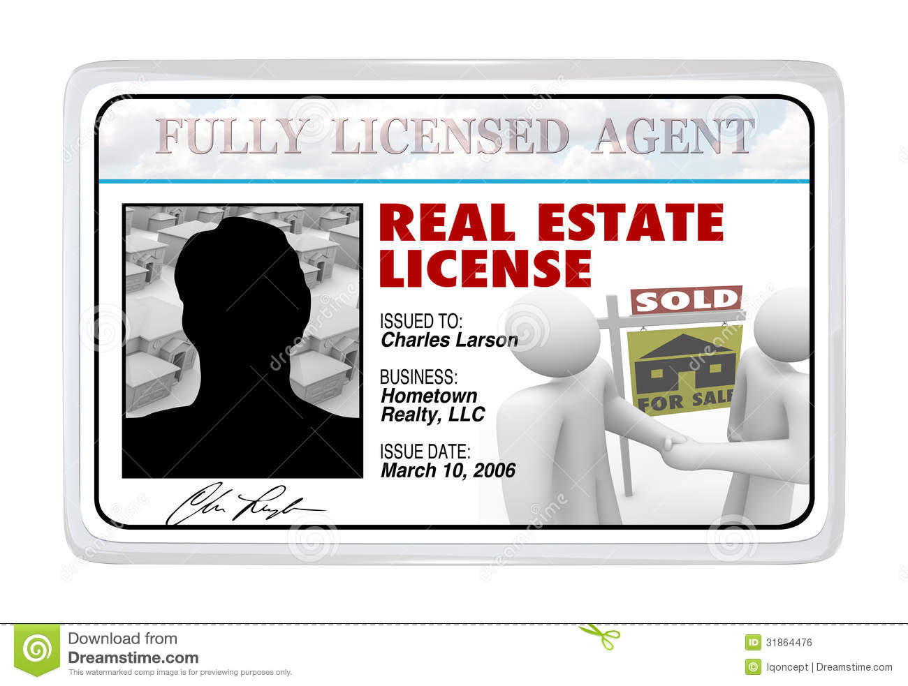 How Do I Become A Realtor Laminated Card Real Estate License For Agent