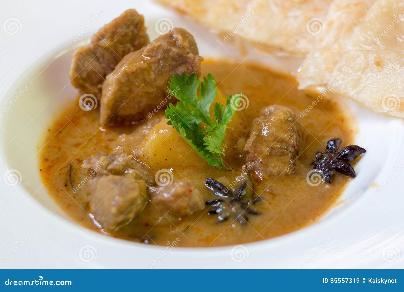 Lamm massaman Curry
