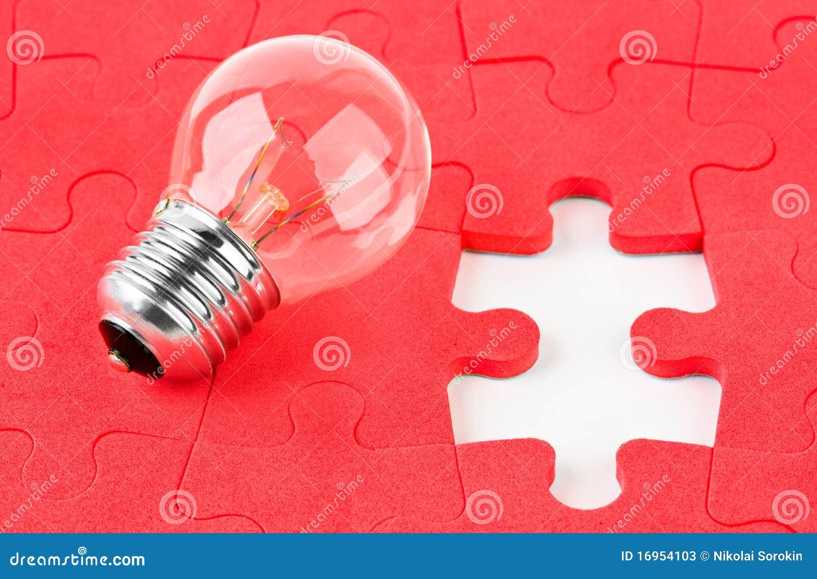 Lamp en raadsel