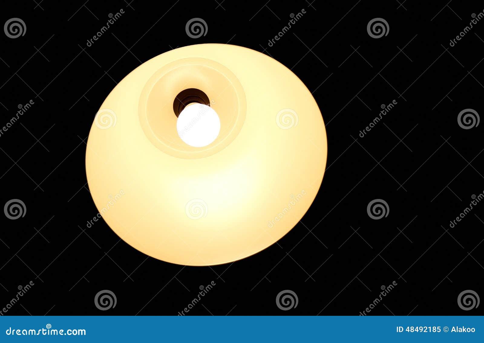 Bulb Lamp Cartoon On The White Background Vector Illust ...