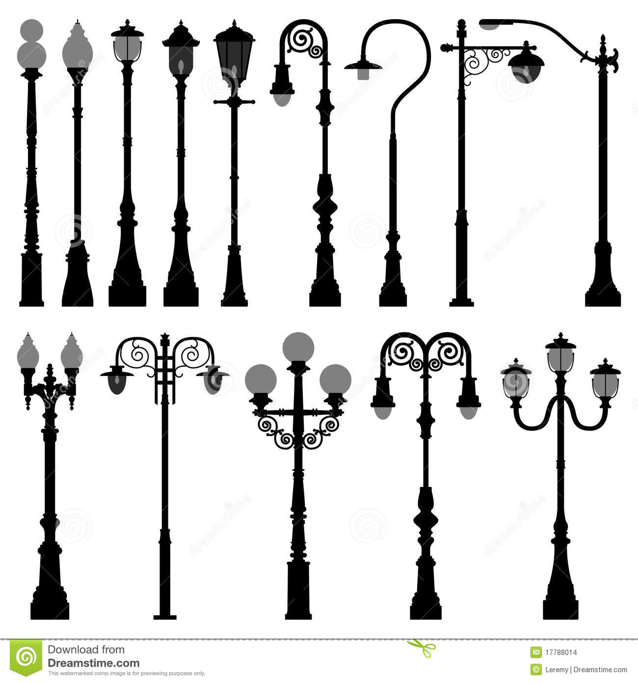 Lamp Post Lamppost Street Road Light Pole Stock Images - Image ...