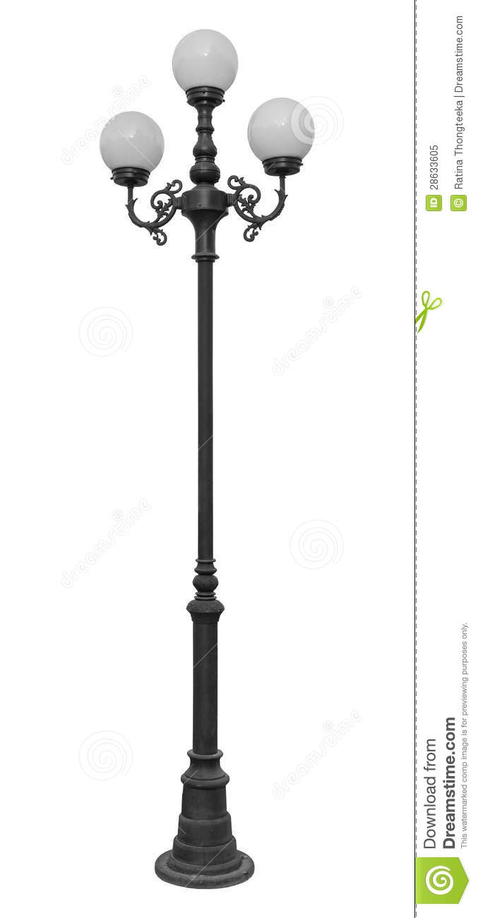 Lamp Post Street Road Light Pole Royalty Free Stock Photo