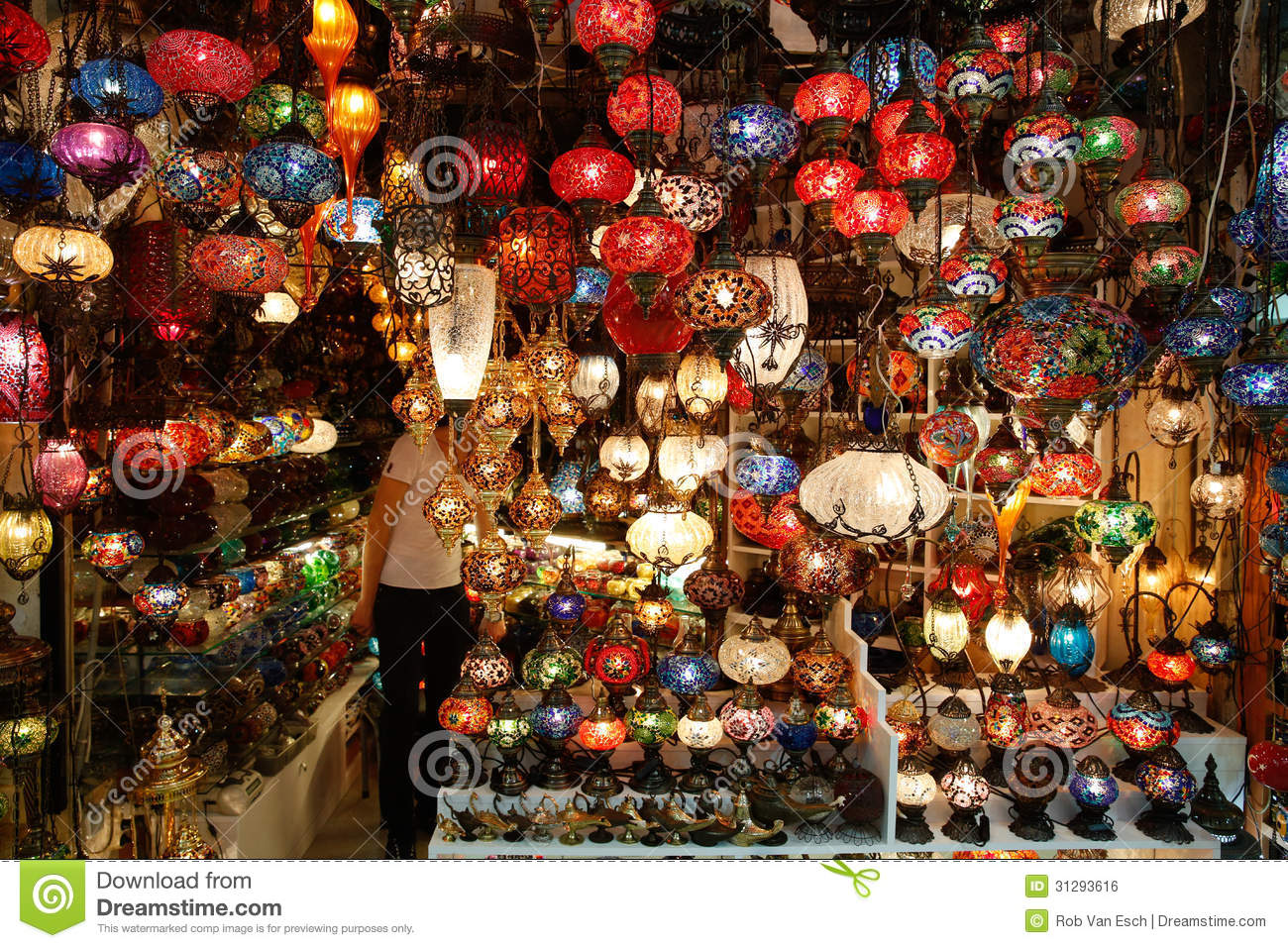 Lamp Shop Stock Photo Image Of Jewelry Bargain National